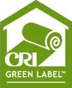 Healthier choice carpet pad blue for Green label carpet